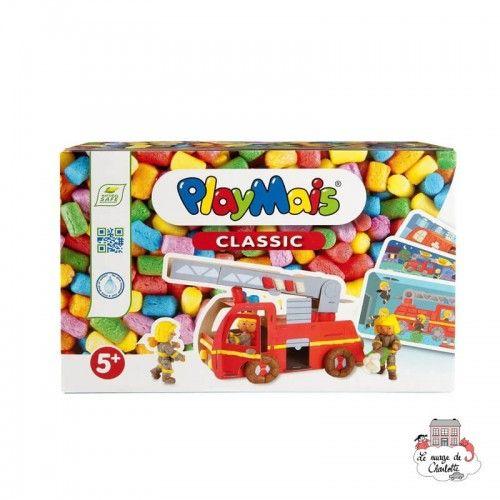 PlayMais CLASSIC Firetruck - PLM-160442 - PlayMais - Stickers - Le Nuage de Charlotte