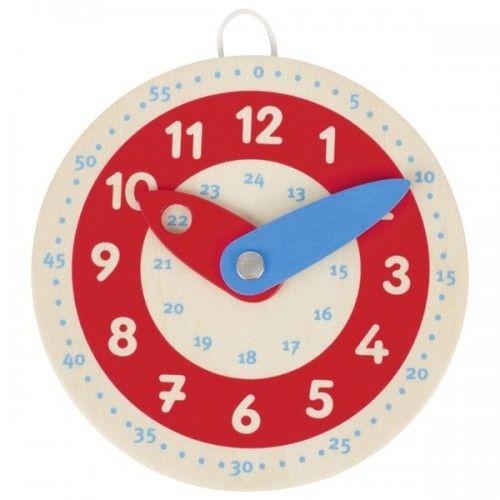 Horloge, apprendre à lire l'heure - GOK-8658485 - goki - Apprendre l'heure - Le Nuage de Charlotte