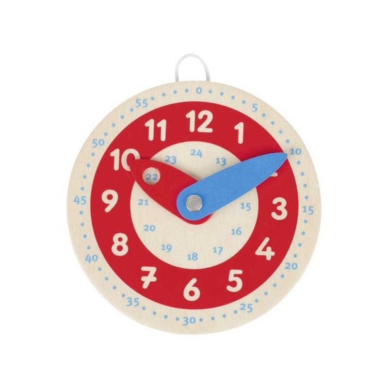 Clock, learnto tell the time - GOK-8658485 - Goki - Apprendre l'heure - Le Nuage de Charlotte