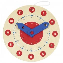 Horloge, apprendre à lire l'heure - GOK-8658980 - goki - Apprendre l'heure - Le Nuage de Charlotte
