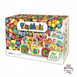 PlayMais FUN TO LEARN A B C ... - PLM38160250 - PlayMais - Collage - Le Nuage de Charlotte