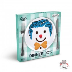 Dinner Do's Boy (Set of 3) - RECFR2051 - Fred & Friends - Eat and Drinks - Le Nuage de Charlotte