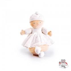 Doll Little Baby white - BON5063002 - Bonikka - Rag Dolls - Le Nuage de Charlotte