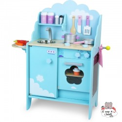 "Kitchen ""Clouds"" - VIL-8107 - Vilac - Kitchen, Household and Dinnerware Set - Le Nuage de Charlotte"