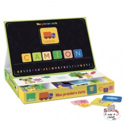 Edumagnet My first words - VIL-8041 - Vilac - Education and Magnets - Le Nuage de Charlotte