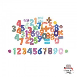 Figures Magnets - VIL-6704 - Vilac - Numbers and Letters - Le Nuage de Charlotte
