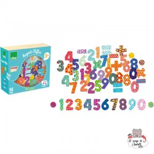 Numbers Magnets - VIL-6704 - Vilac - Education and Magnets - Le Nuage de Charlotte
