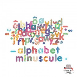Small letter alphabet magnets - VIL-6703 - Vilac - Numbers and Letters - Le Nuage de Charlotte