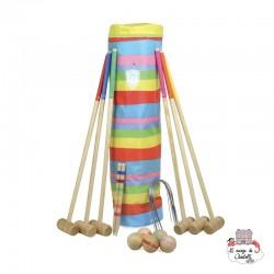Croquet Game in Golf Bag - VIL-4093 - Vilac - Outdoor Games - Le Nuage de Charlotte