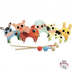 Farm Animals Croquet - VIL-4004 - Vilac - Outdoor Play - Le Nuage de Charlotte