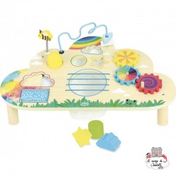 Rainbow activity table - VIL-2459 - Vilac - Activity Toys - Le Nuage de Charlotte