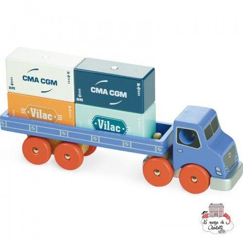 Container Truck Vilacity - VIL-2358 - Vilac - Cars - Le Nuage de Charlotte