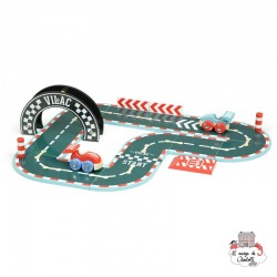 Vilacity Little Race - VIL-2353 - Vilac - Garages and accessories - Le Nuage de Charlotte