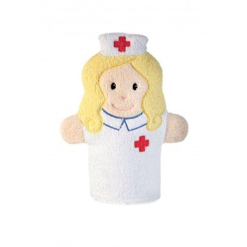 Swash Handpuppet Nurse - EGT110078 - Egmont Toys - Washcloths, towel, cape, etc ... - Le Nuage de Charlotte