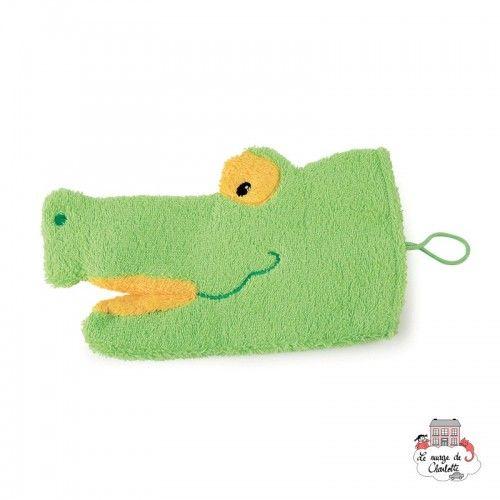 Swash Handpuppet Funny Croco - EGT110062 - Egmont Toys - Washcloths, towel, cape, etc ... - Le Nuage de Charlotte