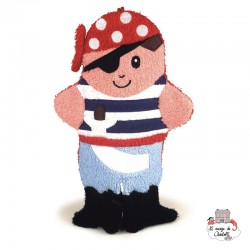 Swash Handpuppet Pirate - EGT110042 - Egmont Toys - Washcloths, towel, cape, etc ... - Le Nuage de Charlotte