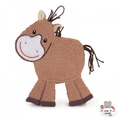 Swash Handpuppet Horse - EGT110052 - Egmont Toys - Washcloths, towel, cape, etc ... - Le Nuage de Charlotte