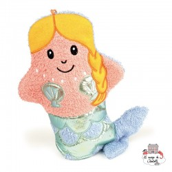 Swash Handpuppet Mermaid - EGT110041 - Egmont Toys - Washcloths, towel, cape, etc ... - Le Nuage de Charlotte