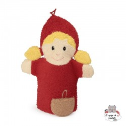 Swash Handpuppet Red Cape - EGT-110069 - Egmont Toys - Washcloths, towel, cape, etc ... - Le Nuage de Charlotte