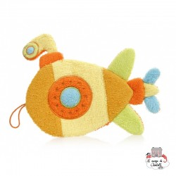 Swash Handpuppet Yellow Submarine - EGT-110081 - Egmont Toys - Washcloths, towel, cape, etc ... - Le Nuage de Charlotte