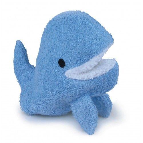Swash Handpuppet Whale - EGT-110040 - Egmont Toys - Washcloths, towel, cape, etc ... - Le Nuage de Charlotte