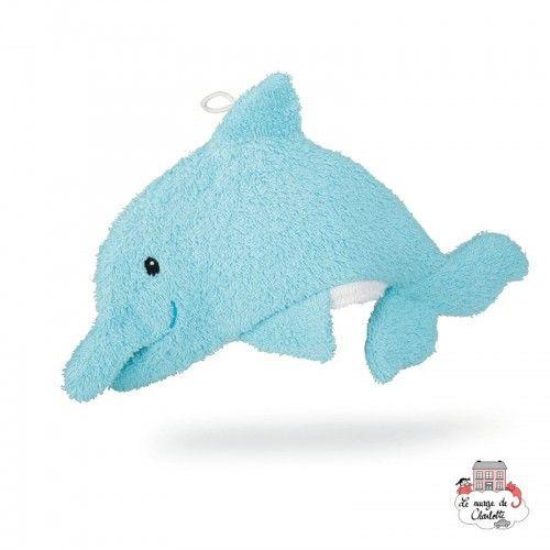 Swash Handpuppet Delphin - EGT-110071 - Egmont Toys - Washcloths, towel, cape, etc ... - Le Nuage de Charlotte