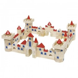 Castle building bricks - GOK-8658984 - Goki - Wooden blocks and boards - Le Nuage de Charlotte