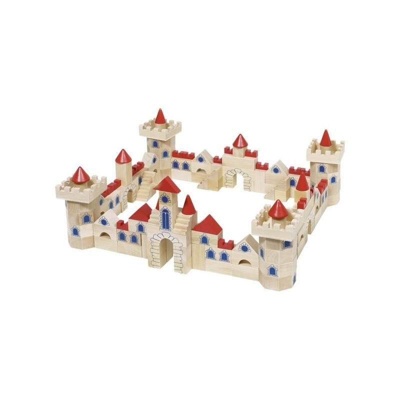 Castle building bricks - GOK-8658984 - goki - Wooden blocks and boards - Le Nuage de Charlotte