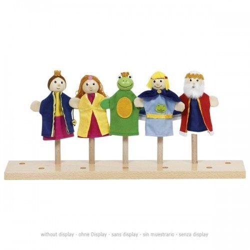 Fingerpuppets Frog King