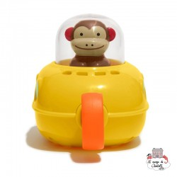 Zoo Pull & Go Submarine - SKP235352 - Skip Hop - Water Play - Le Nuage de Charlotte