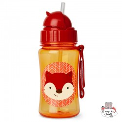 Zoo Straw Bottle - Fox - SKP-252338 - Skip Hop - Eat and Drinks - Le Nuage de Charlotte