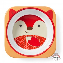 Zoo Little Kid Bowl - Fox