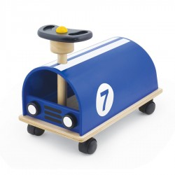 My Blue Race Car - PIN-13521 - PINTOY - Ride-on - Le Nuage de Charlotte