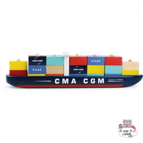 Container-ship - VIL-2315 - Vilac - Cars - Le Nuage de Charlotte
