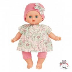 """Petit Câlin Écolo Doll 28 cm """"Pivoine"""""""