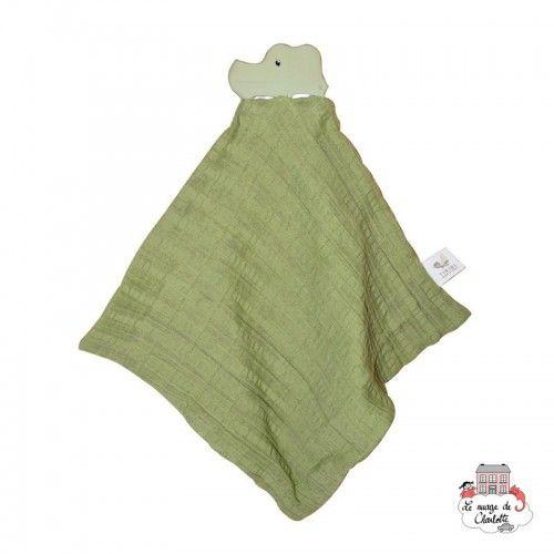 My First Tikiri Safari - Crocodile - TIK-5065101 - Tikiri - Baby Comforter - Le Nuage de Charlotte
