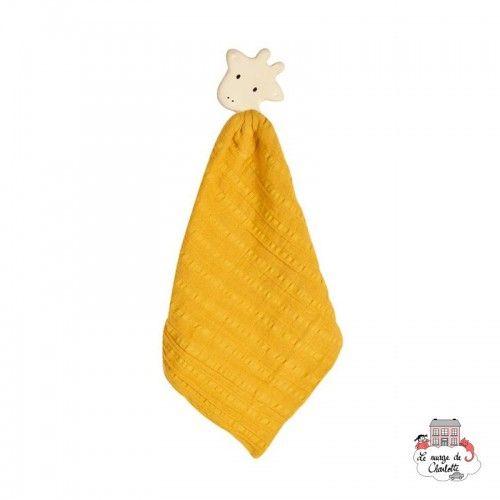 My First Tikiri Safari - Giraffe - TIK-5065102 - Tikiri - Baby Comforter - Le Nuage de Charlotte