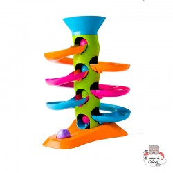 RollAgain Tower - FTB-5021781 - Fat Brain Toy Co. - Activity Toys - Le Nuage de Charlotte
