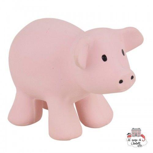 Pig my first Farm animal - TIK-5065023 - Tikiri - Rattles - Le Nuage de Charlotte