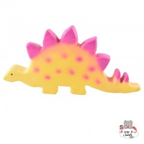 Stego Baby Stegosaurus - TIK-5065005-93003 - Tikiri - Chewy Toys - Le Nuage de Charlotte