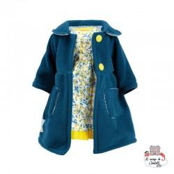 """Habillage """"Dauphine"""" 40 cm - PCO-P504004 - Petitcollin - Doll's Accessories - Le Nuage de Charlotte"""