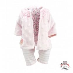 """Habillage """"Lila"""" 36 cm - PCO-P503629 - Petitcollin - Doll's Accessories - Le Nuage de Charlotte"""