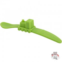 Silicone Mealtime Set Pink / Green - OOG813 - Oogaa - Eat and Drinks - Le Nuage de Charlotte