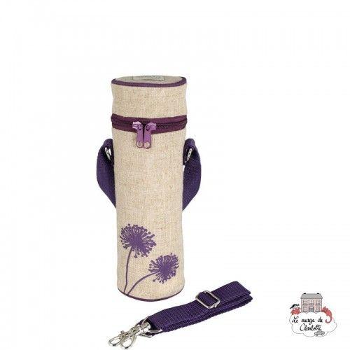 Purple Dandelion Bottle Bag Uncoated - SOYBB-PUDA-RU - SoYoung - Cooler Bag - Le Nuage de Charlotte