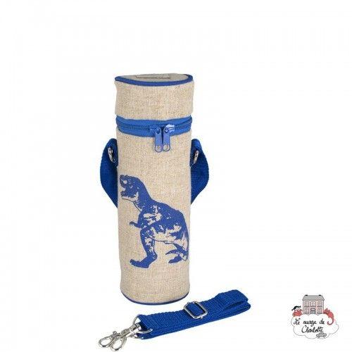 Blue Dino Bottle Bag Uncoated - SOYBB-BLDI-RU - SoYoung - Cooler Bag - Le Nuage de Charlotte