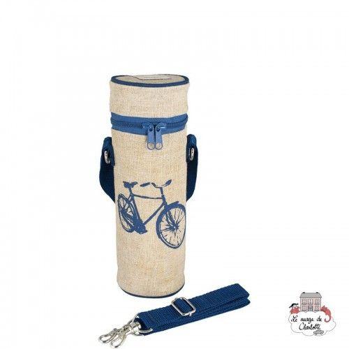 Blue Bicycle Bottle Bag Uncoated - SOYBB-BLBI-RU - SoYoung - Cooler Bag - Le Nuage de Charlotte