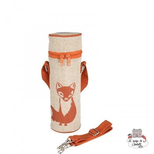 Orange Fox Bottle Bag Uncoated - SOYBB-ORFO-RU - SoYoung - Cooler Bag - Le Nuage de Charlotte
