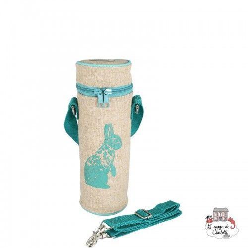Aqua Bunny Bottle Bag Uncoated - SOYBB-AQBU-RU - SoYoung - Cooler Bag - Le Nuage de Charlotte