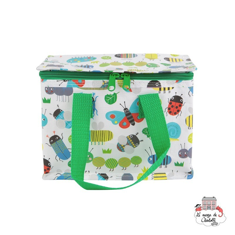 Busy Bugs Lunch Bag - S&BTOTE066 - Sass & Belle - Cooler Bag - Le Nuage de Charlotte