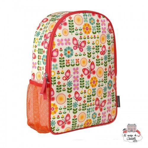 """Backpak """"Butterflies"""" - PTC-5074877 - Petit Collage - Backpacks - Le Nuage de Charlotte"""